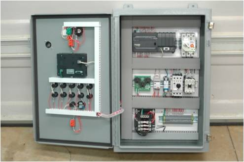 Click To Enlarge Programmable Logic Controllers PLC Control Panel